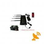 In Car Use Cell Phone Signal Blocker Jammer High Power