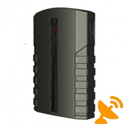 Portable Wifi + Bluetooth + Cell Phone Signal Jammer 8 Metres