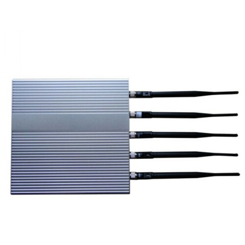 Video jammer blocker pills - 5 Antenna Cell Phone jammer(3G,GSM,CDMA,DCS,PHS)