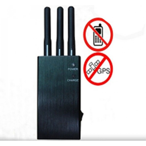 Phone jammer 4g in - Wholesale 5-Band Portable 3G Cell Phone Signal Jammer