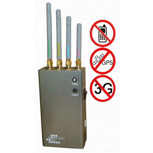 Cell Phone Jammer >> 5 Band Portable Cell Phone Gps Signal Jammer 10 Metres 201301096