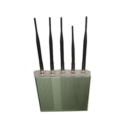 Cdma jammer   5 Antennas Jammer Sales